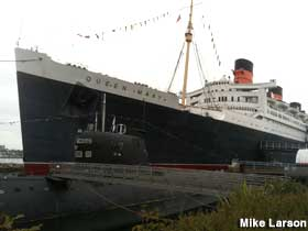 Haunted Queen Mary.