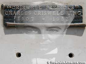 Grave of the Amazing Criswell.