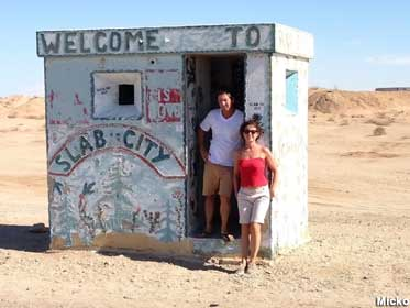 Welcome to Slab City.