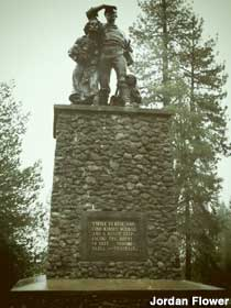 Donner Party monument.