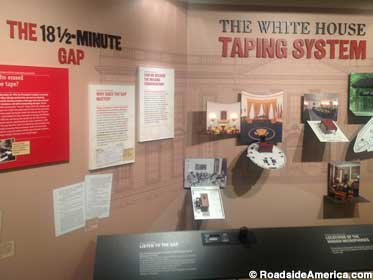 White House Taping System and the Gap.