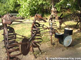 Folk Art Swetsville Zoo Fort Collins Colorado