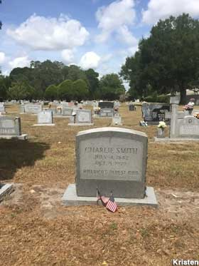 Grave of America's Oldest Man.