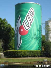 Big 7up Can.