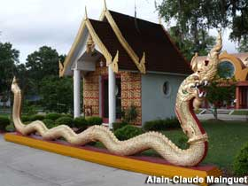Serpent at the Temple.