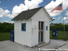 Smallest Post Office in the US.