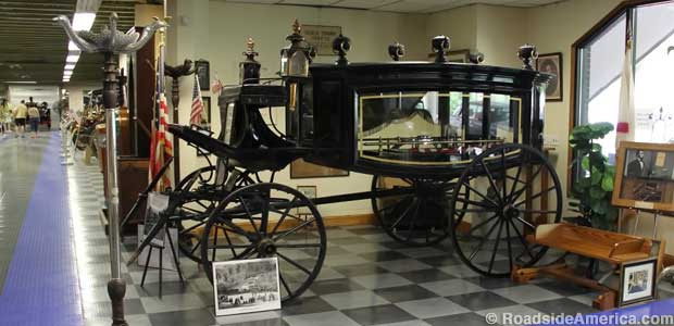 Lincoln Funeral Carriage.