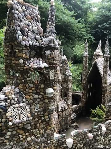 Rock garden cathedral.