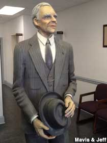Henry Ford Statue.