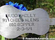 Buddy Holly Crash Site.