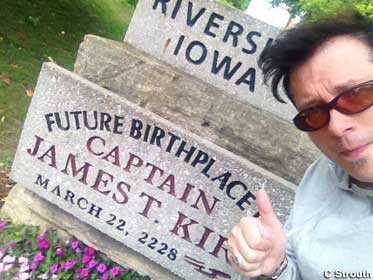 Future Birthplace of James T. Kirk.