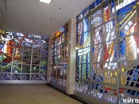 Largest Stained Glass Window.