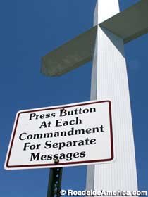 Press Button at Each Commandment for Separate Messages.