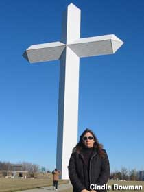 Largest Cross.