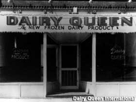 First Dairy Queen.