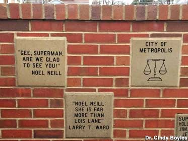 Plaque wall.