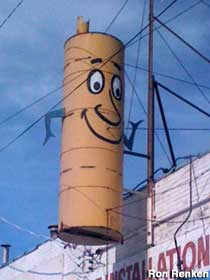 Cartoon Muffler.