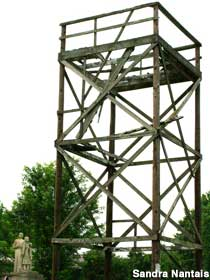 Watch Tower and monument.
