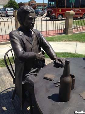 Play Poker with Doc Holliday, Dodge City, Kansas