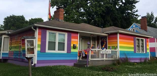 The Equality House.