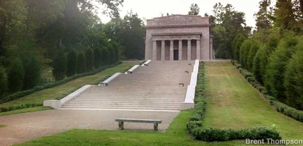 Hodgenville Ky Lincoln Birthplace But Not His Cabin