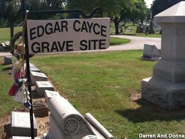Edgar Cayce Grave Site.