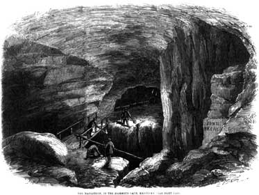 Maelstrom in Mammoth Cave, Illustrated London News, 1859.