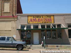 Bonnie And Clyde Ambush Museum Gibsland Louisiana