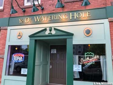 Exterior of Ye Ol' Watering Hole.