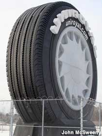 World's Largest Tire.