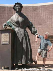 Sojourner Truth statue.