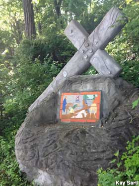 Station of the Cross.