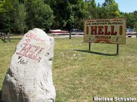 Hell - Official US Weather Bureau.