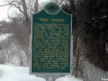 The Thing historical marker.