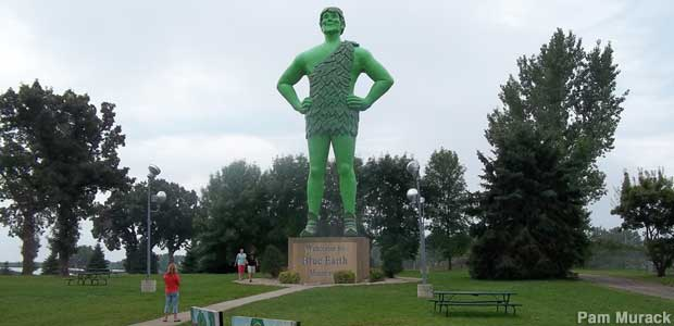 Jolly Green Giant.