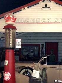 Replica Rt. 66 gas station.