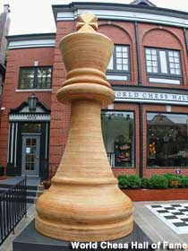 World's Largest Chess Piece.