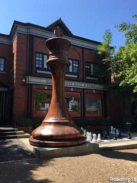 St. Louis, MO - World's Largest Chess Piece