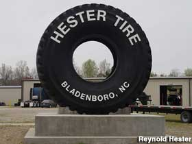 Largest real tire.