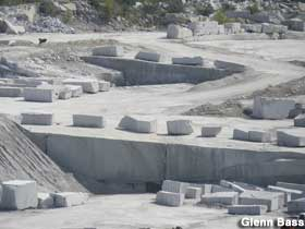 Worlds Largest Open Faced Granite Quarry.