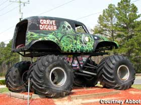 Grave Digger monster truck.