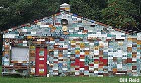 License Plate House.
