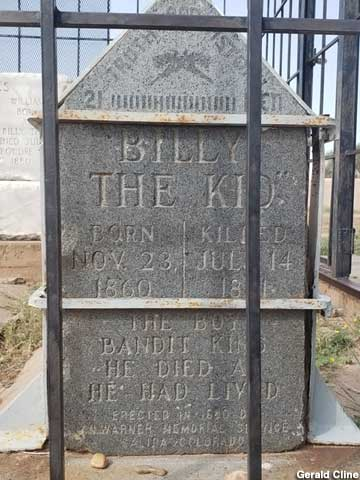 Billy the Kid grave.
