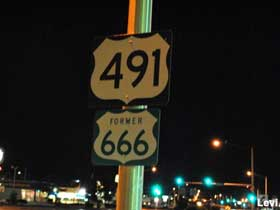 Former Route 666.