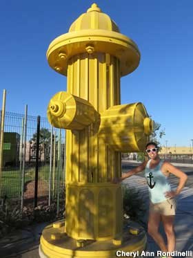 Las Vegas Nv World S Largest Working Fire Hydrant