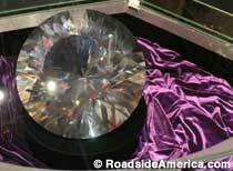 World's Largest Rhinestone.