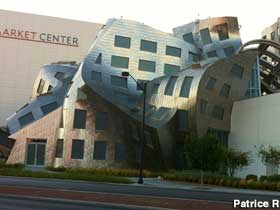 Twisted brain health building.