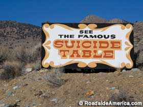 Famous Suicide Table.