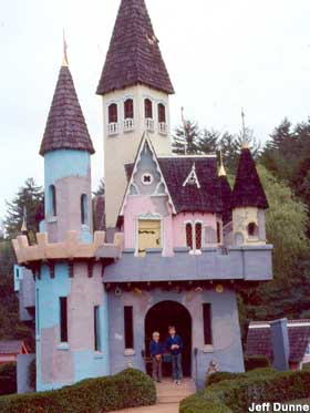 Enchanted castle at Land of MakeBelieve.