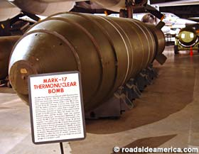 Mark 17 Thermonuclear bomb.